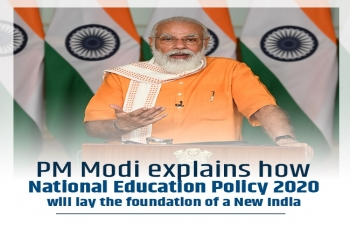 PM Modi explains how National Education Policy 2020 will lay the foundation of a New India