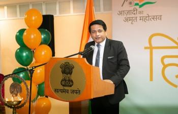 Embassy of India Minsk - Glimpses of Hindi Diwas and Hindi Pakhwada 2021